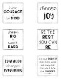 Desk Motivation Notes Part 1