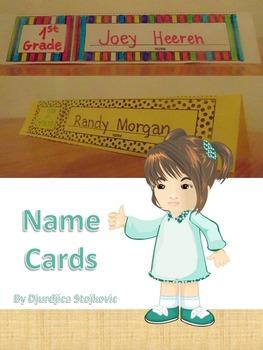 Desk Name Cards