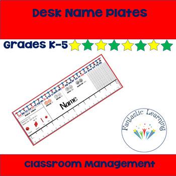 Desk Name Plate