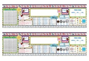 Desk Name Plate - Bilingual