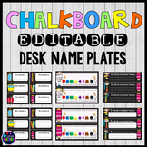 Desk Name Tags Editable