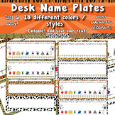 Desk Name Plates  APT-001