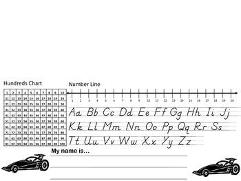 Desk Name Plates Car Theme