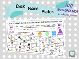 Desk Name Plates/Desk Name Tags