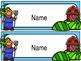 Desk Name Plates - Farm Theme