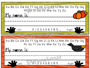 Desk Name Plates - Seasonal Bundle