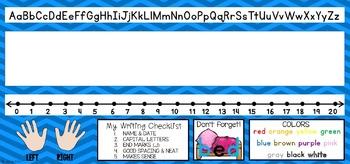 Desk Name Tag FREEBIE!~Kindergarten & First Grade