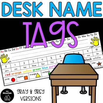 Desk Name Tags
