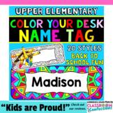 Desk Name Tags: Name Plates