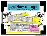 Desk Name Tags (Editable)