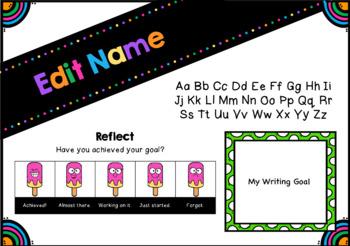 Desk Name Tags - Editable