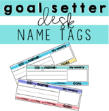 Desk Name Tags (Goal Setters)