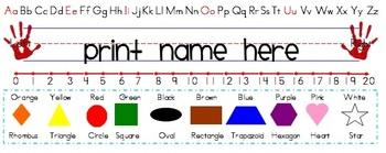 Desk Name Tags/Plates