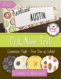 Desk Name Tent Freebie