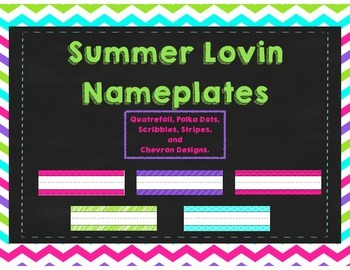 Desk Name tags / Nameplates