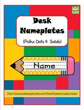 Desk Nameplates