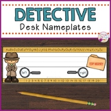 Desk Nameplates-Detective Themed