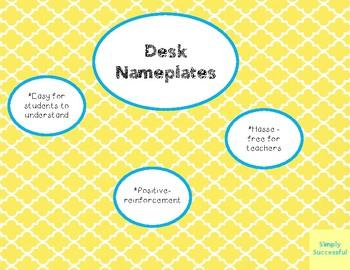 Desk Nameplates FREEBIE