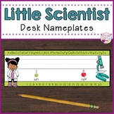 Desk Nameplates-Little Scientist