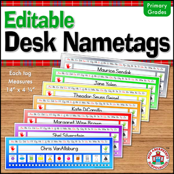 Desk Nametag Freebie