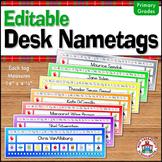 Desk Nametags (Editable)