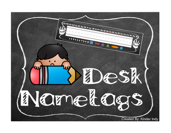 Desk Nametags