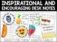Desk Notes Bundle - TARGET ADHESIVE LABELS - Desk Notes