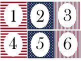 Desk Number/ Calendar Numbers