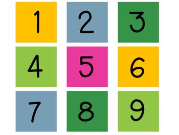 Desk Numbers