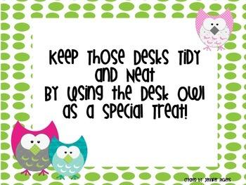 Desk Owl (desk fairy)
