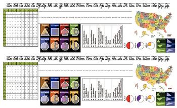 Desk Plate/Name Tag--Intermediate Grades