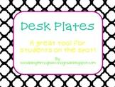 Desk Plates