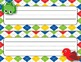 Desk Plates, Labels, Tags & More!  ***EDITABLE***  ~Colorful Animals Theme~