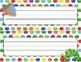 Desk Plates, Labels, Tags & More!  ***EDITABLE*** ~Cute Caterpillar Theme~