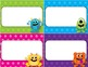 Desk Plates, Labels, Tags & More!  ***EDITABLE*** ~Monster