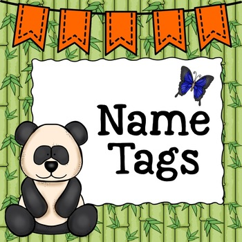 Rainforest Name Tags