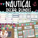 Desk Plates / Name Tags - Nautical Theme