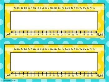 Desk Plates {Polka Dot Classroom Decor Theme}