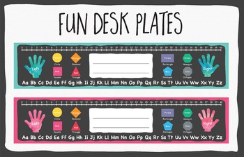 Desk Plates by Think BIG