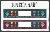 Desk Plates by Think BIG