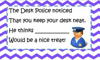 Desk Police