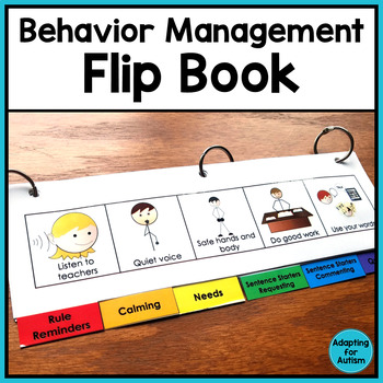 Behavior Management: Visual Aid Flip Book for Special Education