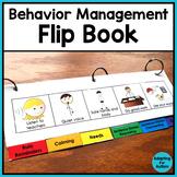 Autism Visual Behavior Management Flip Book for Special Education