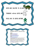Desk Reminder Sign- Stuttering/Speech Therapy