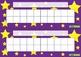 Desk Reward Chart – Stars – Various Colours