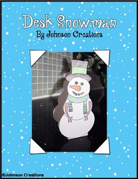 Desk Snowman
