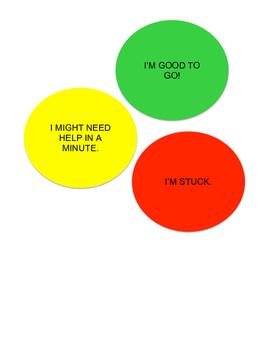 Desk Stoplights Self Assessment