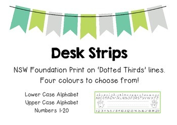 Desk Strips/ Name Cards- NSW Foundation Print