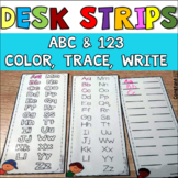 Desk Strips for extra practice