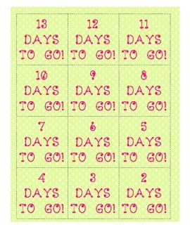 Desk Summer Countdown